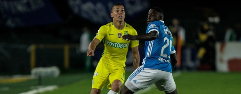 Nacional gana en su visita al Campín 1-0