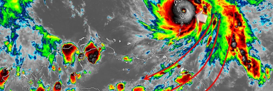Alerta en el Golfo de Urabá por el Huracán María