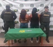 DOS MUJERES  FUERON CAPTURADAS  EN CAREPA
