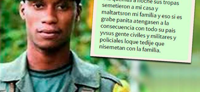 """""""Aténganse a las consecuencias"""": 'Guacho' amenaza a policías de Ecuador por WhatsApp"""