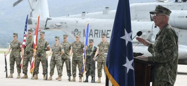Marina de EE.UU. está lista para despliegue en Venezuela si reciben la orden