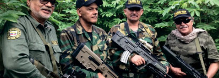 Reaparecen 'Márquez' y 'Santrich' pidiendo la renuncia de Duque