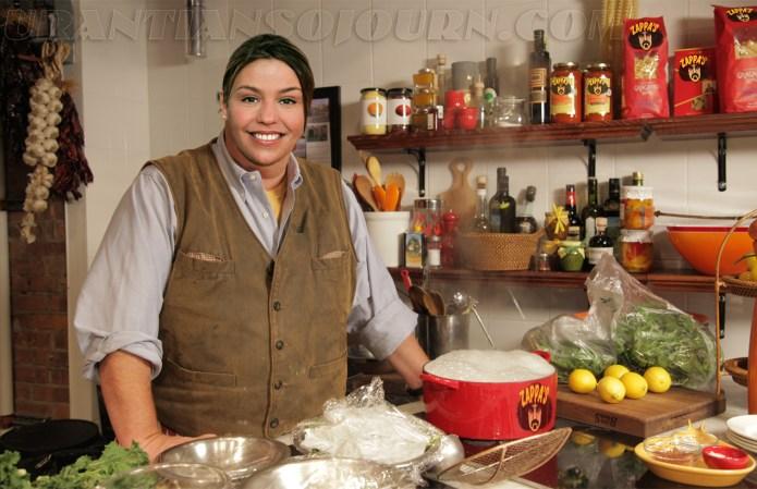 Rachel Batali Makes Toaster Poot
