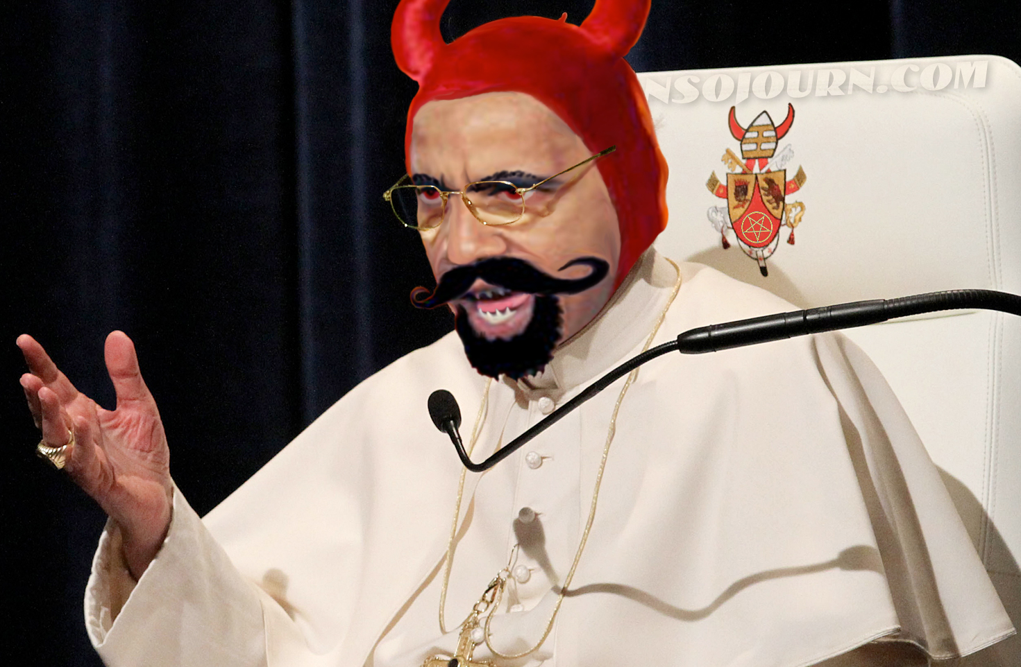 POPE SATAN THE ONE & ONLY