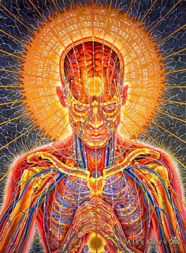 Alex Grey • Praying3