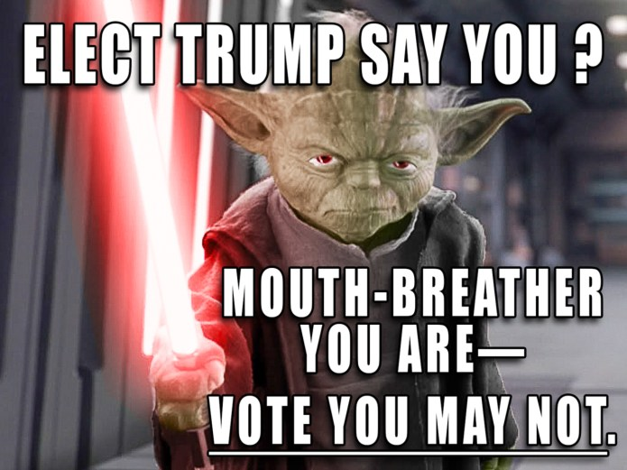 Trump Mouth Breathers