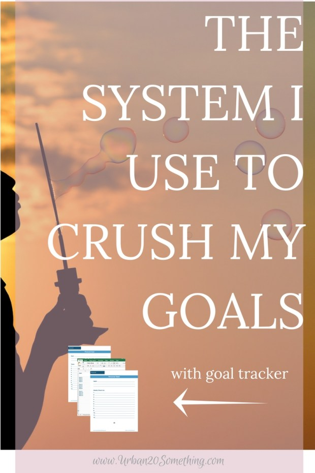 My quarterly goal system has been the best way to achieve my goals. Monthly goals aren't long enough and New Years resolutions are too long! Click through to learn my entire quarterly goal system and get your free guide and tracking spreadsheets to go with it!