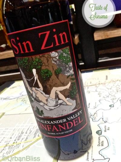 Taste of Sonoma - Sin Zin