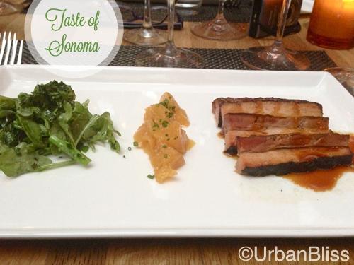 Taste of Sonoma - pork belly