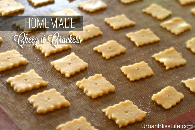 Homemade Cheez-it Crackers Recipe