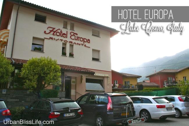 Hotel Europa Lake Como Italy