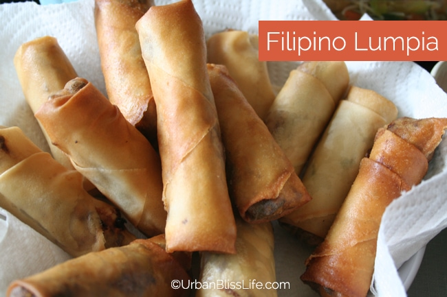 Cooking class - How to make Filipino Egg Rolls (Lumpia)