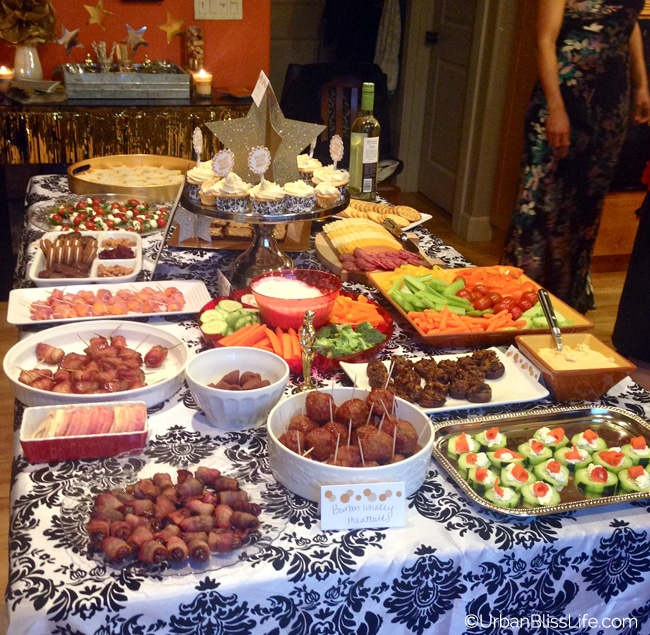 Golden Globes Skinnygirl - buffet