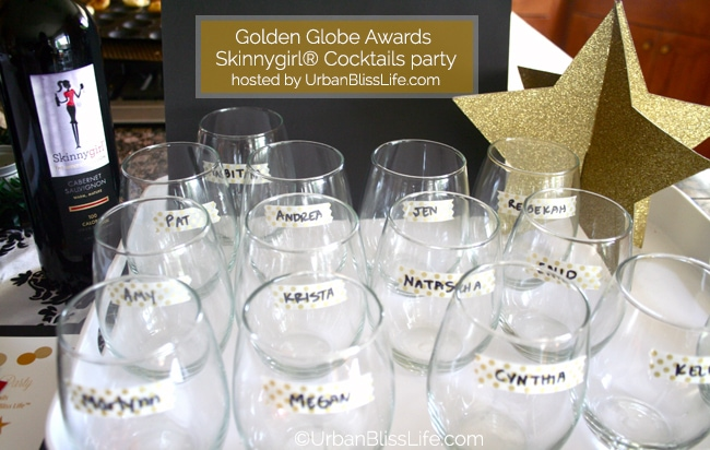 Golden Globes Skinnygirl party - glasses
