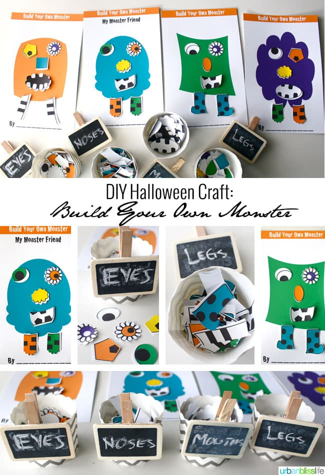 Halloween Monster Printables The Free Halloween Printable