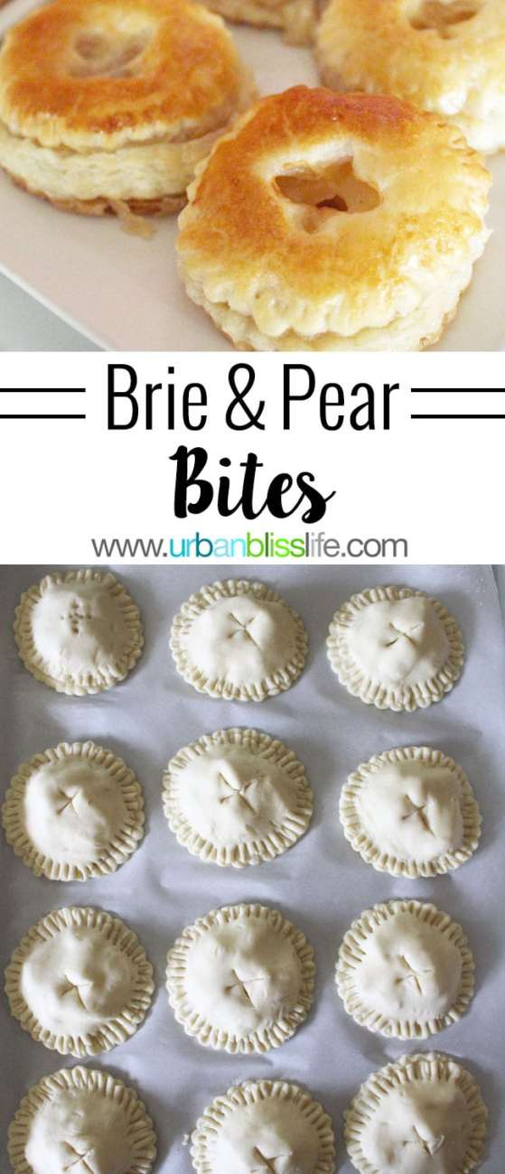 Food Bliss: Brie and Pear Appetizer Bites