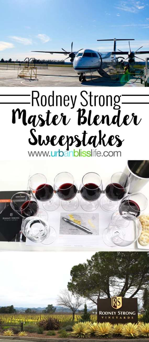 Wine Bliss: Rodney Strong Vineyard Sweepstakes