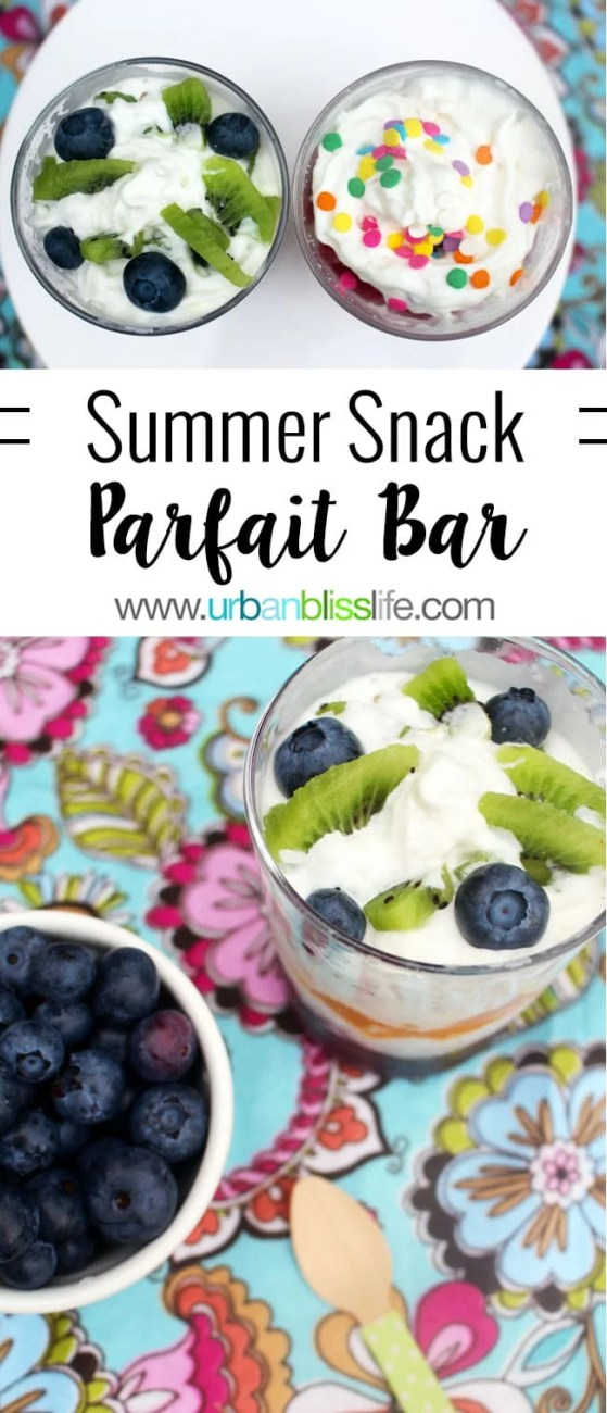 Food Bliss: Build a Summer Parfait Snack Bar