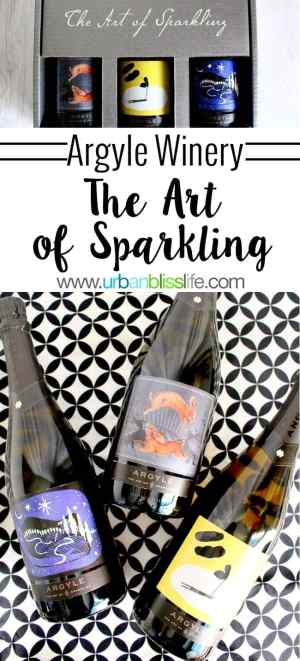 Argyle Winery Art of Sparkling wines on UrbanBlissLife.com