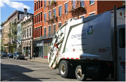 Cincinnati Recycling Truck