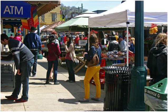 Shoppers at Findlay Market [Randy Simes]