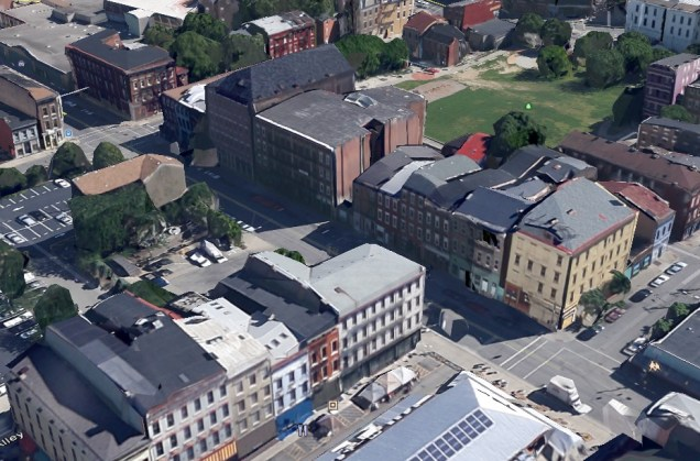Model Group's Race Street Development [Google Earth]