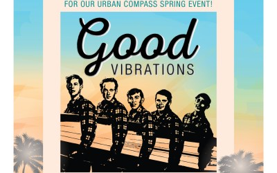 Good Vibrations Spring Gala coming up on April 20th!