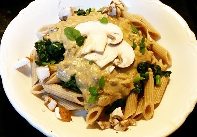 vegan stroganoff recipe
