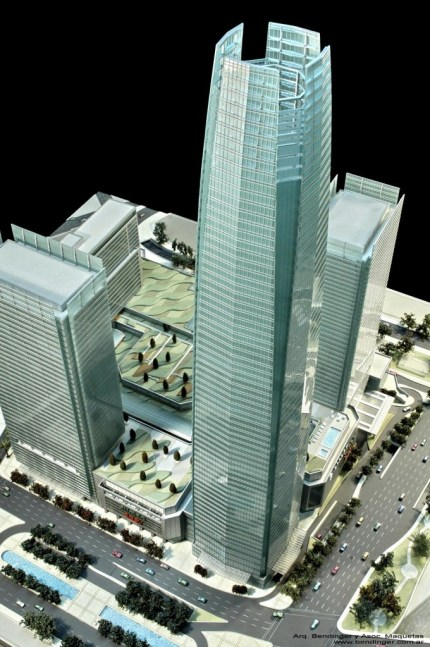 Costanera Center Chile urbanews Ouverture en 2012 pour la plus haute tour sud amricaine 
