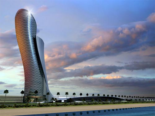 capital gate tower architecture Capitale Gate, plus penchée que la Tour de Pise !