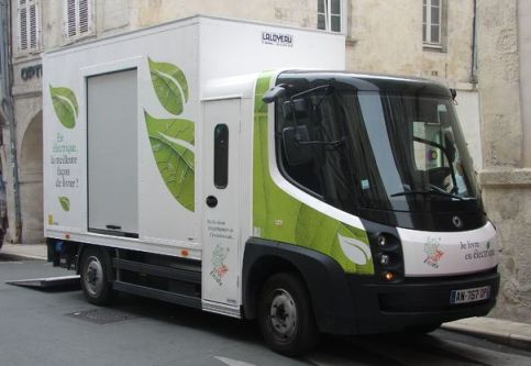 camion lectrique La Rochelle Quel futur pour le fret en centre ville?