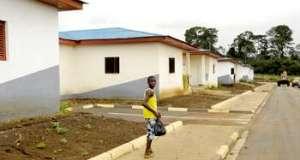 À Malabo, des lotissements ont été construits pour les familles les plus modestes.