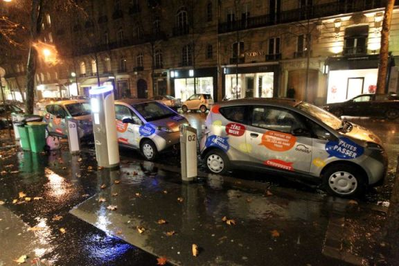 autolib le parisien Top dpart pour la flotte Autolib