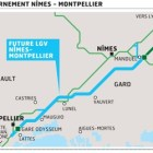 Coup d&rsquo;envoi pour la LGV de Nmes  Montpellier
