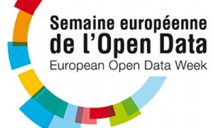 Le logo de la premire Semaine Europenne de l&#039;Open Data.