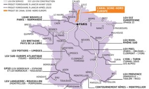 Les projets du Schéma national d'infrastructures de transport.