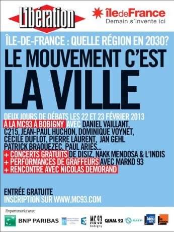 Le Mouvement cest la ville 346x460 Forum Île de France : le mouvement, cest la ville !