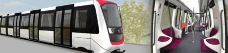 Le nouveau métro de Lille (crédits : Alstom)
