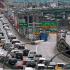 Une embouteillage sur une voie rapide de Toronto (Crédits : Samah El-Tantawy)