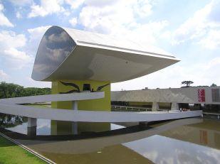 Musée Oscar Niemeyer Curitiba - Brésil