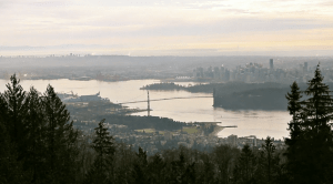 Birds-eye view of the Metro Vancouver
