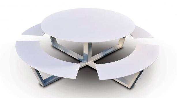 cassecroute-la-grande-ronde-05-ronde-picknicktafel-wit-aluminium-staal-bovenzicht-960x582