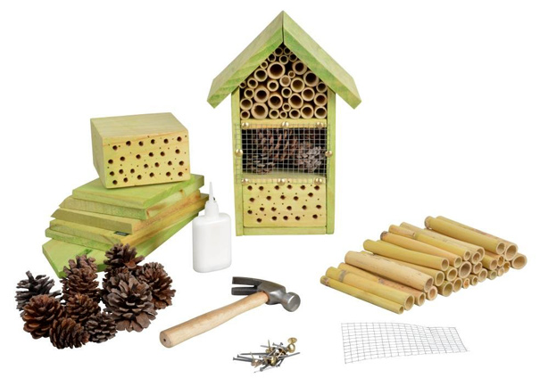 How To Design A Bug Hotel To Attract Beneficial Insects Bees