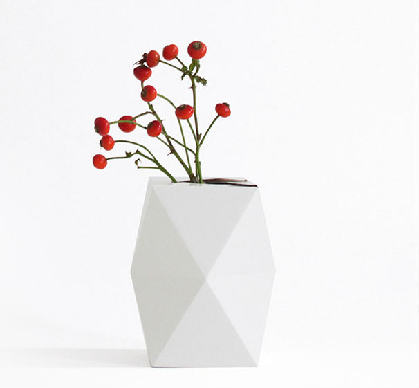 geometric vase 10 geometric vases and planters with an edge urban gardens