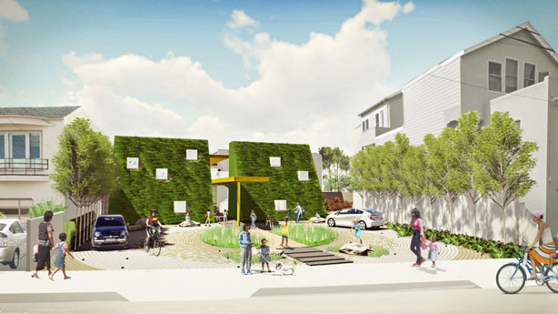 golden-bridges-urban-farm-school-front-building-rendering-urbangardensweb