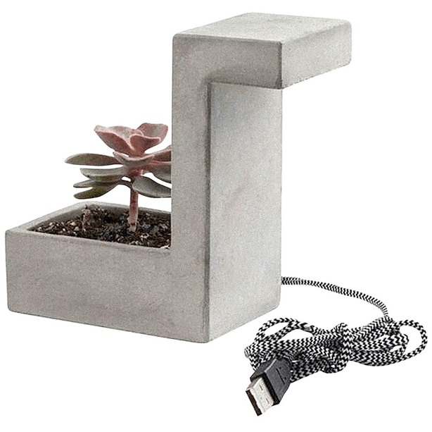 kikkerland_concrete_desk-lamp-planter