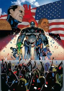 Amazing Men of America and President Obama - Matteo Buffagni