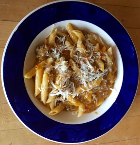 Penne with Sauce Tomate