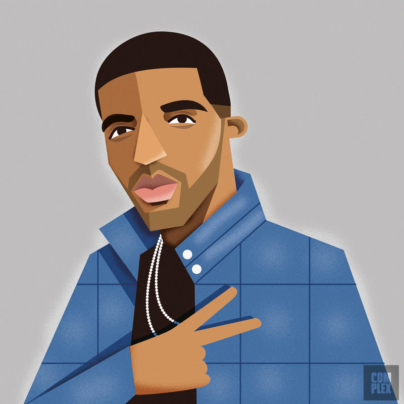 rappers Drake URBe