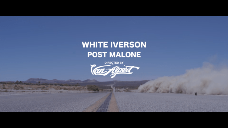 Post Malone White Inverson URBe